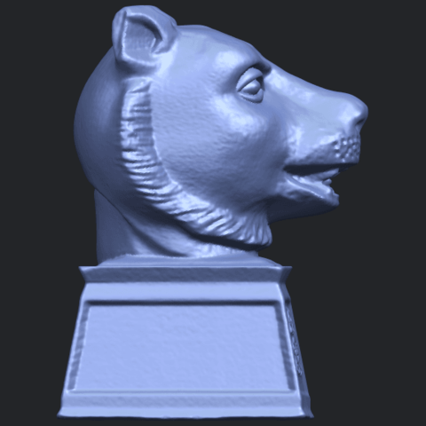 15_TDA0510_Chinese_Horoscope_of_Tiger_02B09.png Download free STL file Chinese Horoscope of Tiger 02 • 3D print object, GeorgesNikkei