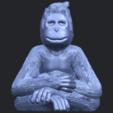 09_TDA0606_ChimpanzeeB01.png Télécharger fichier STL gratuit Chimpanzé • Design imprimable en 3D, GeorgesNikkei