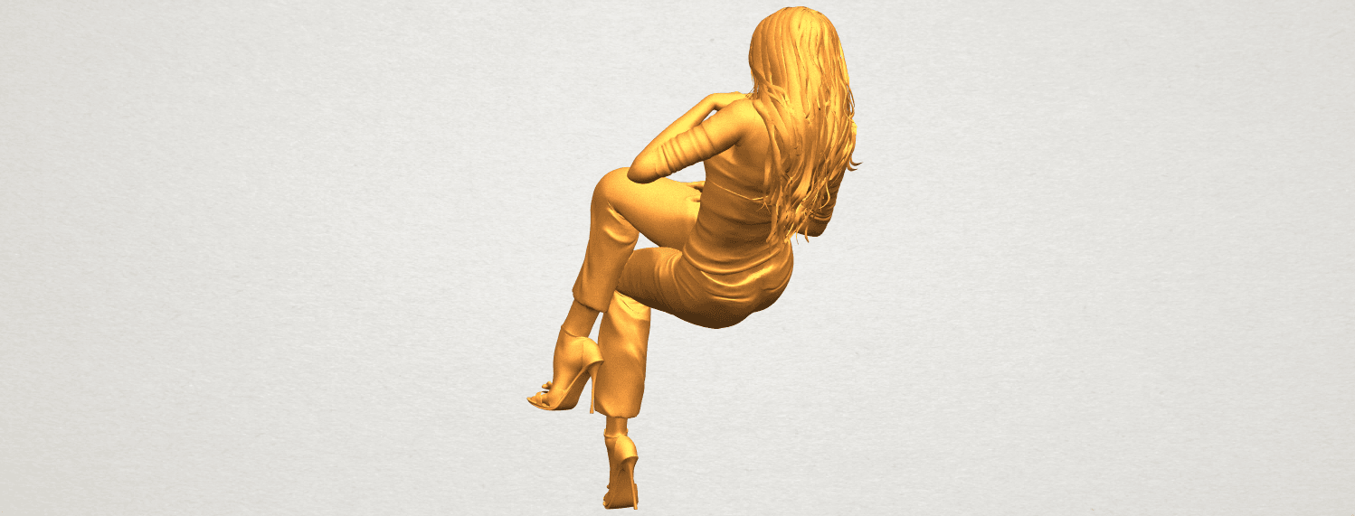 A05.png Download free STL file Naked Girl I05 • Object to 3D print, GeorgesNikkei