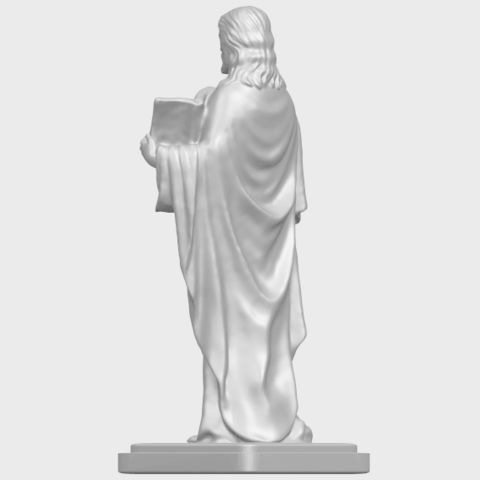 19_TDA0237_Jesus_vA05.png Download free STL file Jesus 05 • 3D print object, GeorgesNikkei