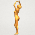 TDA0627 Naked Girl C03 A05.png Download free STL file Naked Girl C03 • 3D printer template, GeorgesNikkei