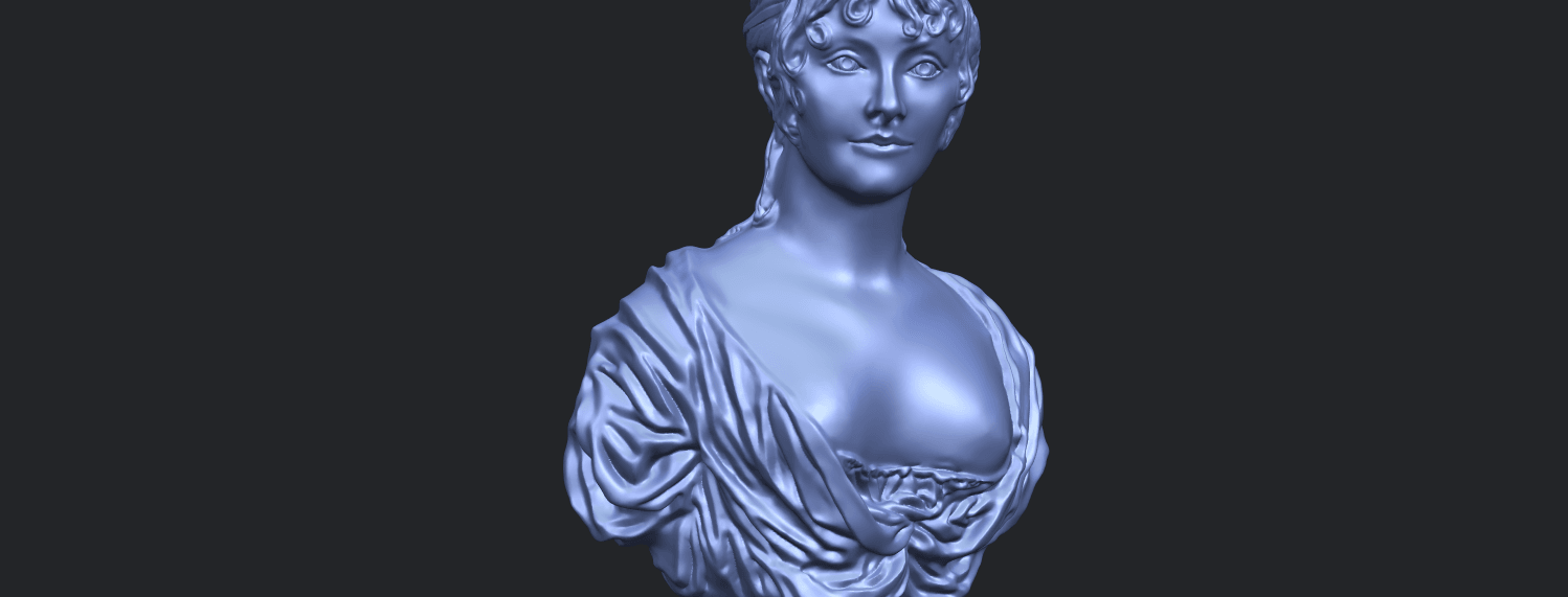24_TDA0201_Bust_of_a_girl_01A10.png Download free STL file Bust of a girl 01 • Object to 3D print, GeorgesNikkei