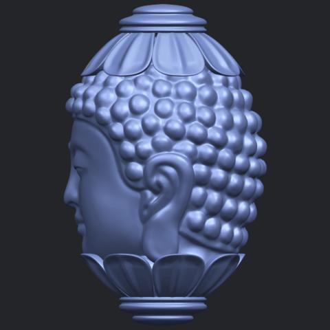 11_Buddha_Head_Sculpture_80mmB04.png Download free STL file Buddha - Head Sculpture • 3D printing model, GeorgesNikkei