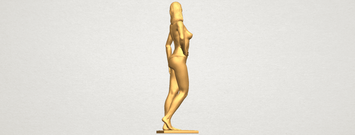 TDA0465 Naked Girl 19 A06.png Download free STL file Naked Girl 19 • 3D printer template, GeorgesNikkei