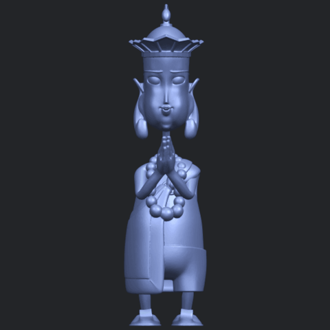 14_TDA0245_Pilgrimage-Tang_SengB01.png Download free STL file Pilgrimage-Tang Seng • 3D printable template, GeorgesNikkei