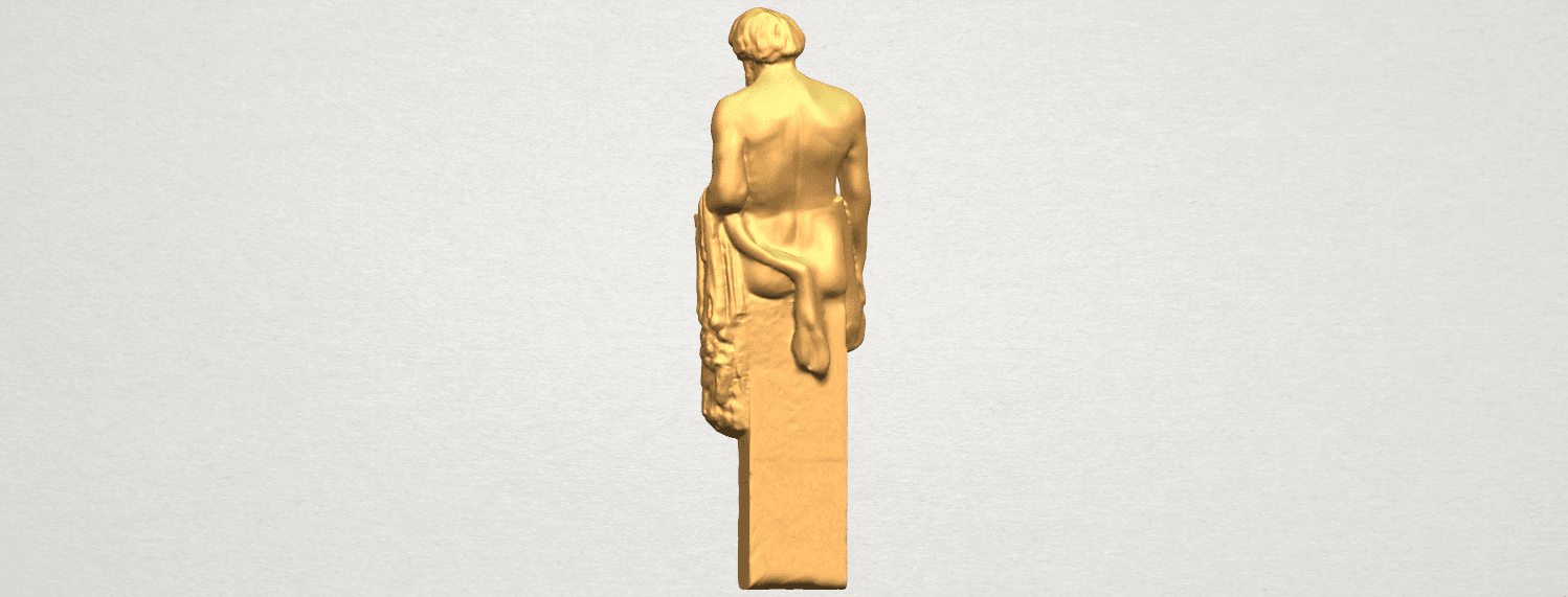 TDA0466 Sculpture of a man 02 A04.png Download free STL file Sculpture of a man 03 • 3D print model, GeorgesNikkei