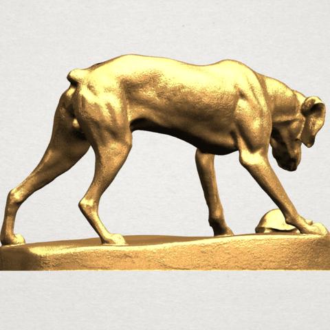 Dog (i) A04.png Télécharger fichier STL gratuit Chien 01 • Plan pour impression 3D, GeorgesNikkei