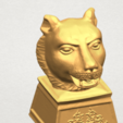 TDA0510 Chinese Horoscope of Tiger 02 A08.png Download free STL file Chinese Horoscope of Tiger 02 • 3D print object, GeorgesNikkei