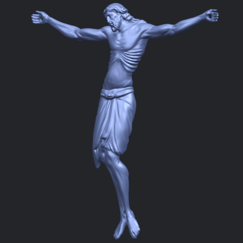 17_TDA0233_Jesus_iv_88mmB02.png Download free STL file Jesus 04 • Template to 3D print, GeorgesNikkei
