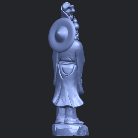 10_TDA0338_Da_Mo_ivB08.png Télécharger fichier STL gratuit Da Mo 04 • Design pour imprimante 3D, GeorgesNikkei