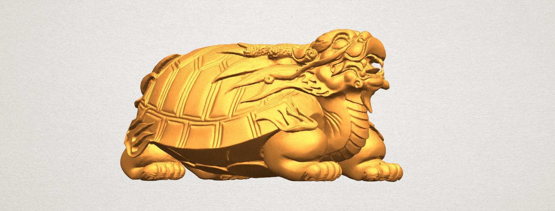 TDA0333 Dragon  Tortoise A05.png Télécharger fichier STL gratuit Tortue dragon • Objet imprimable en 3D, GeorgesNikkei