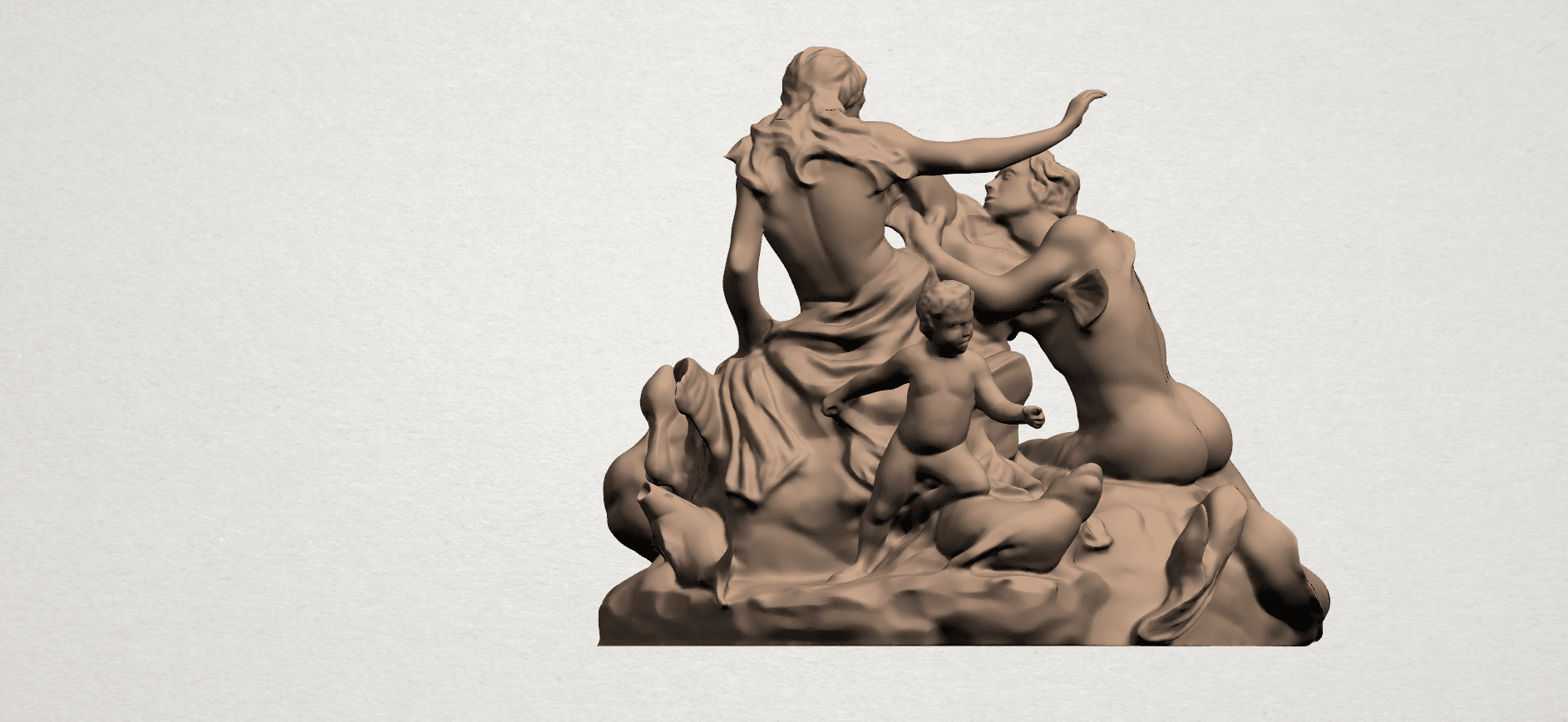 Naked Couple (vi) A05.png Download free STL file  Naked Couple 06 • 3D printing object, GeorgesNikkei