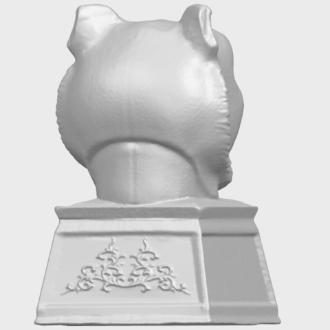 15_TDA0510_Chinese_Horoscope_of_Tiger_02A07.png Download free STL file Chinese Horoscope of Tiger 02 • 3D print object, GeorgesNikkei
