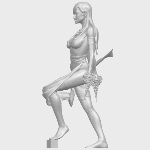 07_TDA0476_Beautiful_Girl_10A03.png Download free STL file Beautiful Girl 10 • 3D printable design, GeorgesNikkei