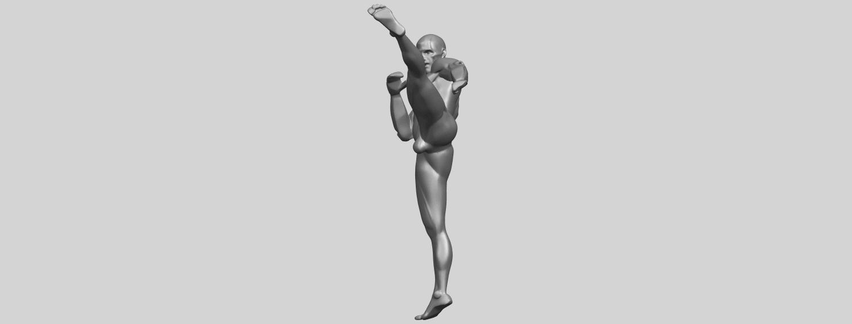 06_TDA0547_Man_KickingA04.png Télécharger fichier STL gratuit Man Kicking • Objet pour impression 3D, GeorgesNikkei
