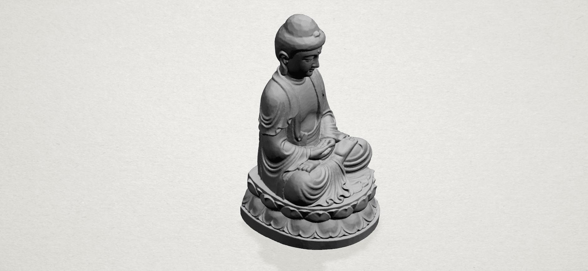 Gautama Buddha young - A04.png Télécharger fichier STL gratuit Gautama Bouddha Bouddha • Objet imprimable en 3D, GeorgesNikkei