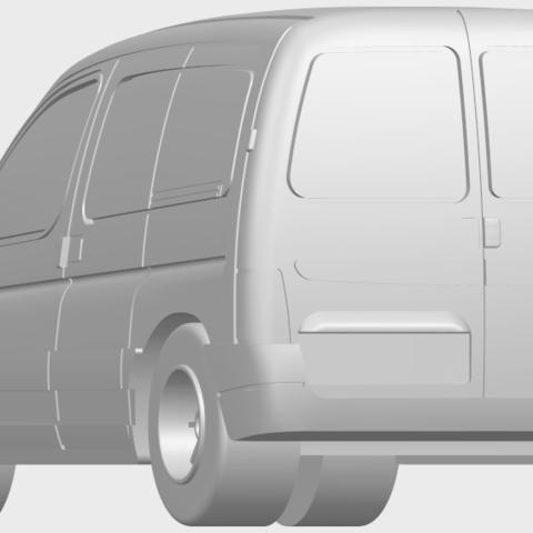 08_TDB002_1-50A03.png Download free STL file Citroen Berlingo Belgium Post • Design to 3D print, GeorgesNikkei