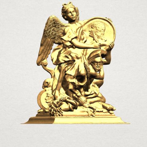 Angel (vi) - A07.png Télécharger fichier STL gratuit Ange 06 • Modèle pour imprimante 3D, GeorgesNikkei