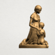 Free 3D model Mother and Child 02, GeorgesNikkei