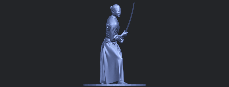 05_TDA0544_Japanese_WarriorB09.png Download free STL file Japanese Warrior • 3D printer model, GeorgesNikkei