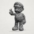 Download free 3D printing templates Voronoi Mario, GeorgesNikkei