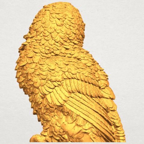 A07.png Download free STL file Owl 04 • 3D printable object, GeorgesNikkei