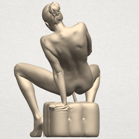 TDA0285 Naked Girl B02 08.png Download free STL file  Naked Girl B02 • 3D printer model, GeorgesNikkei