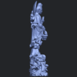 Download free 3D printer templates Avalokitesvara Bodhisattva (with fish) 02, GeorgesNikkei