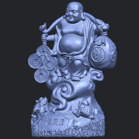 09_TDA0329_Metteyya_Buddha_09B02.png Télécharger fichier STL gratuit Bouddha Metteyya 09 • Modèle imprimable en 3D, GeorgesNikkei