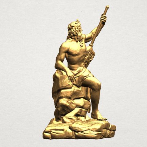 Naked Warrior A07.png Télécharger fichier STL gratuit Guerrier nu • Plan pour impression 3D, GeorgesNikkei
