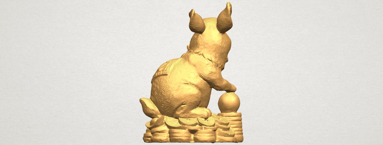 TDA0559 Rabbit 02 A04.png Télécharger fichier STL gratuit Lapin 02 • Design imprimable en 3D, GeorgesNikkei
