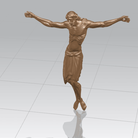 TDA0230 Jesus (iv) A01.png Download free STL file Jesus 04 • Template to 3D print, GeorgesNikkei