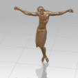 Download free 3D printing templates Jesus 04, GeorgesNikkei