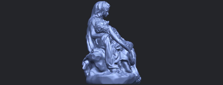05_TDA0238_La_PietaB09.png Télécharger fichier STL gratuit La Pieta • Modèle pour impression 3D, GeorgesNikkei