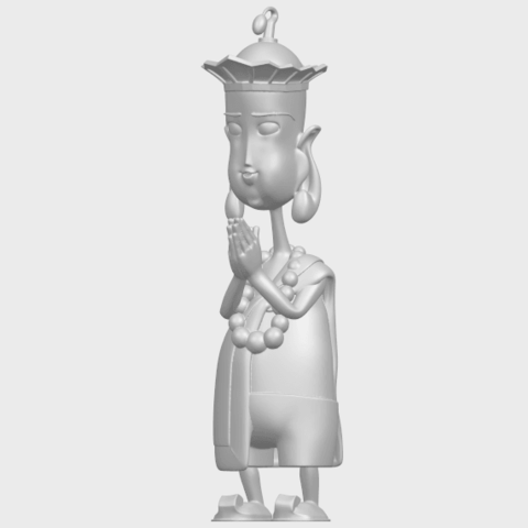 14_TDA0245_Pilgrimage-Tang_SengA02.png Download free STL file Pilgrimage-Tang Seng • 3D printable template, GeorgesNikkei