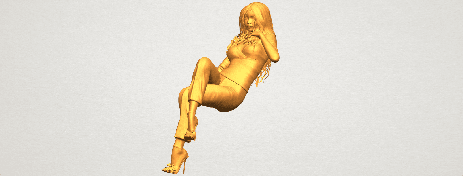 A02.png Download free STL file Naked Girl I05 • Object to 3D print, GeorgesNikkei