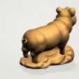 Chinese Horoscope12-A04.png Download free STL file Chinese Horoscope 12 pig • Model to 3D print, GeorgesNikkei