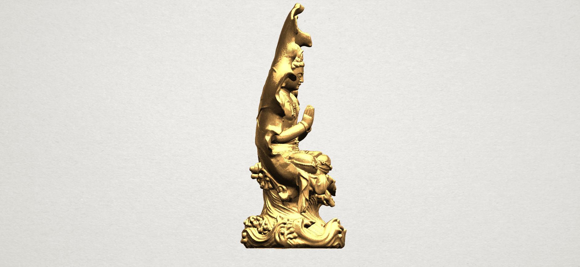 Avalokitesvara Buddha (with Lotus Leave) (ii) A08.png Download free STL file Avalokitesvara Buddha (with Lotus Leave) 02 • Model to 3D print, GeorgesNikkei
