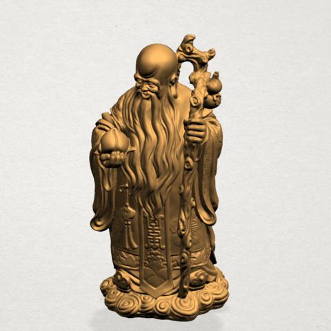 Sao (Fook Look Sao) 80mm - A07.png Download free STL file Sao (Fook Look Sao) • 3D printable model, GeorgesNikkei