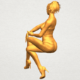 A08.png Download free STL file Naked Girl H05 • 3D printable object, GeorgesNikkei