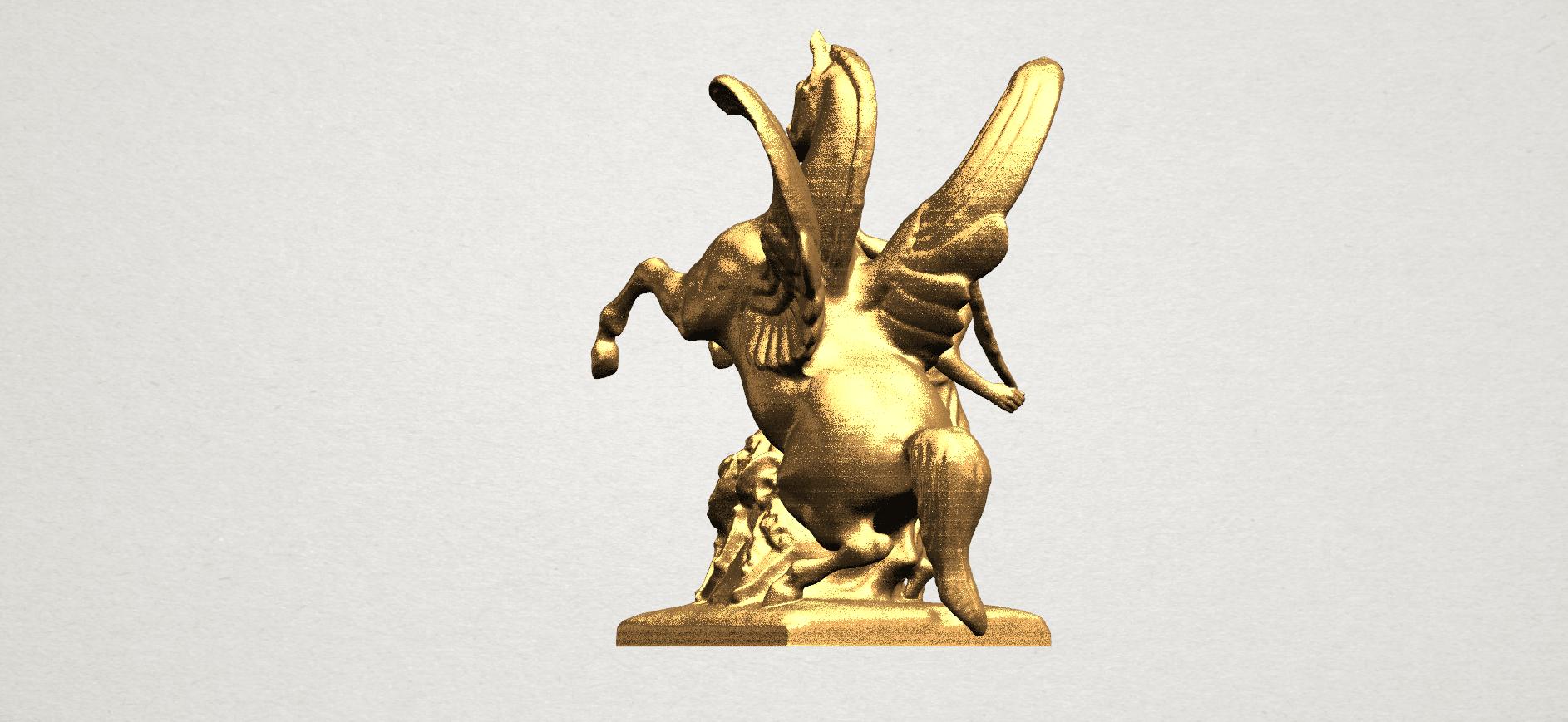 Horse (v) A02.png Télécharger fichier STL gratuit Cheval 05 • Plan pour impression 3D, GeorgesNikkei
