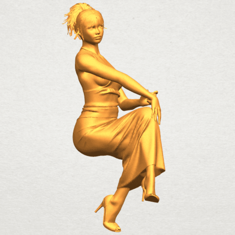 A03.png Download free STL file Naked Girl H09 • 3D printing model, GeorgesNikkei