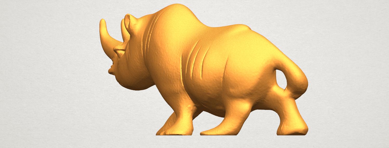 TDA0310 Rhinoceros (ii) A02.png Download free STL file Rhinoceros 02 • 3D printing model, GeorgesNikkei