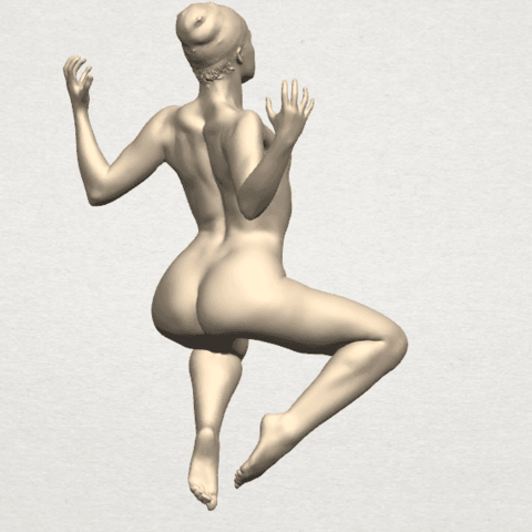 TDA0282 Naked Girl A09 04.png Download free STL file Naked Girl A09 • 3D print object, GeorgesNikkei
