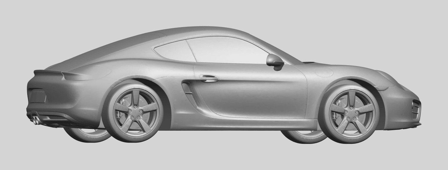 16_TDA0304_Porche_01_Length438mmA06.png Download free STL file Porche 01 • 3D printable object, GeorgesNikkei