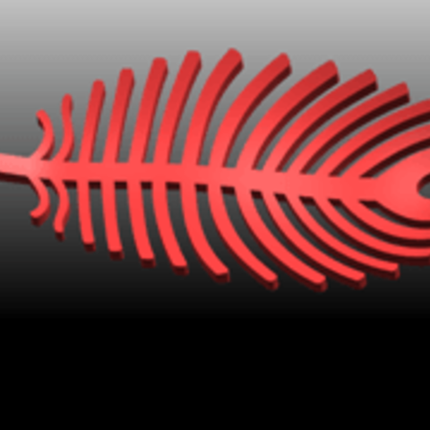 03.png Download free STL file Earing -Leaf • 3D printer template, GeorgesNikkei