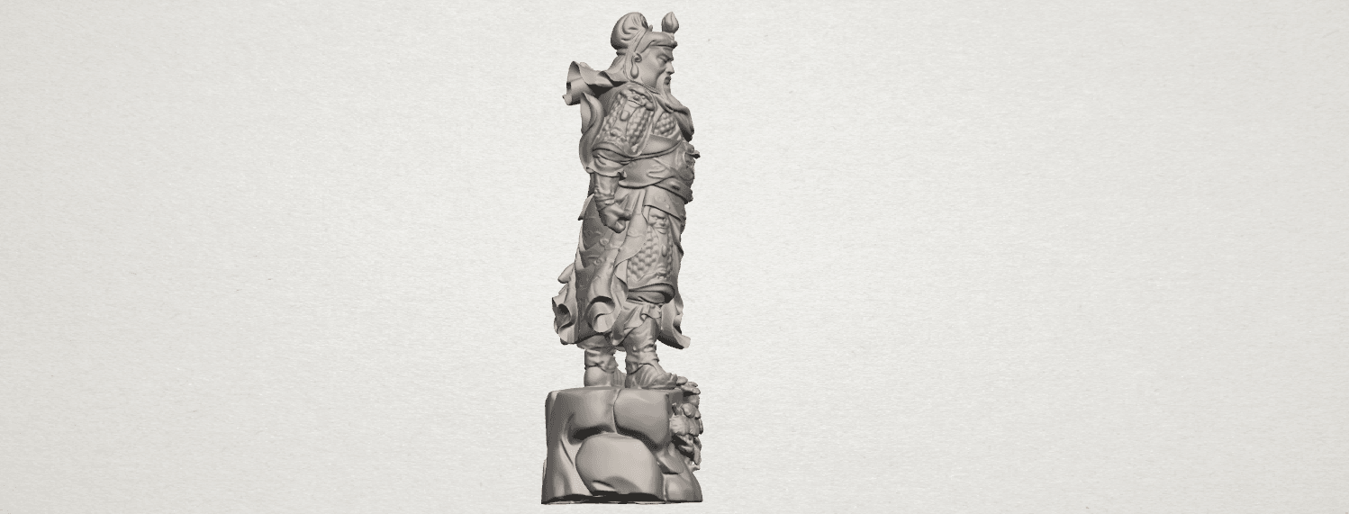 TDA0241 Guan Gong (ii) A07.png Download free STL file Guan Gong 02 • 3D printing template, GeorgesNikkei