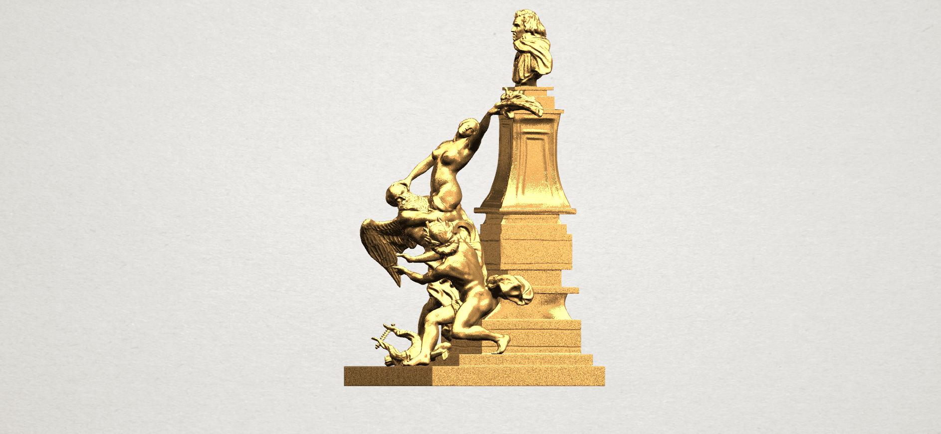 Statue 02 - A03.png Télécharger fichier STL gratuit Statue 02 • Plan pour impression 3D, GeorgesNikkei