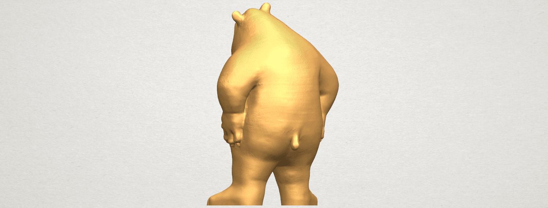 TDA0561 Bear Senior A04.png Télécharger fichier STL gratuit Bear Senior • Plan imprimable en 3D, GeorgesNikkei