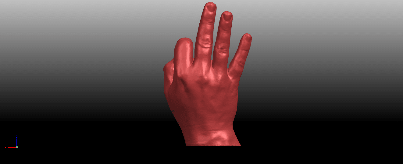 05.png Download free STL file Voronoi Hand • Object to 3D print, GeorgesNikkei